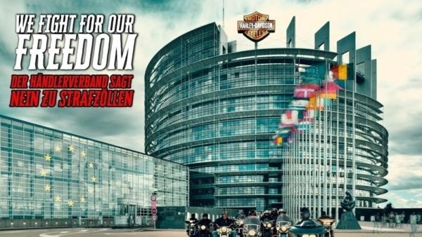 Der Harley-Davidson Händlerverband wehrt sich gegen die Strafzölle