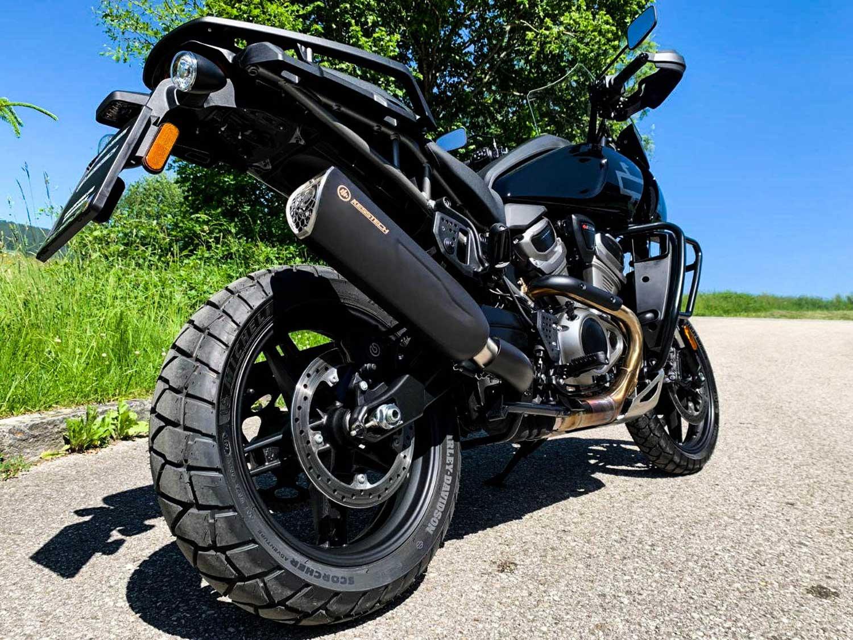 KessTech Auspuffanlage für die Harley-Davidson Pan America