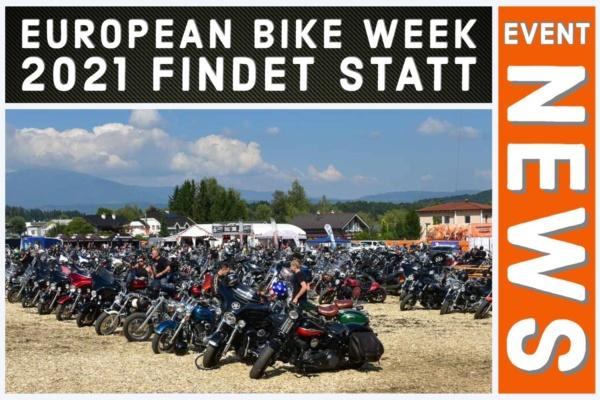 European Bike Week 2021 findet statt