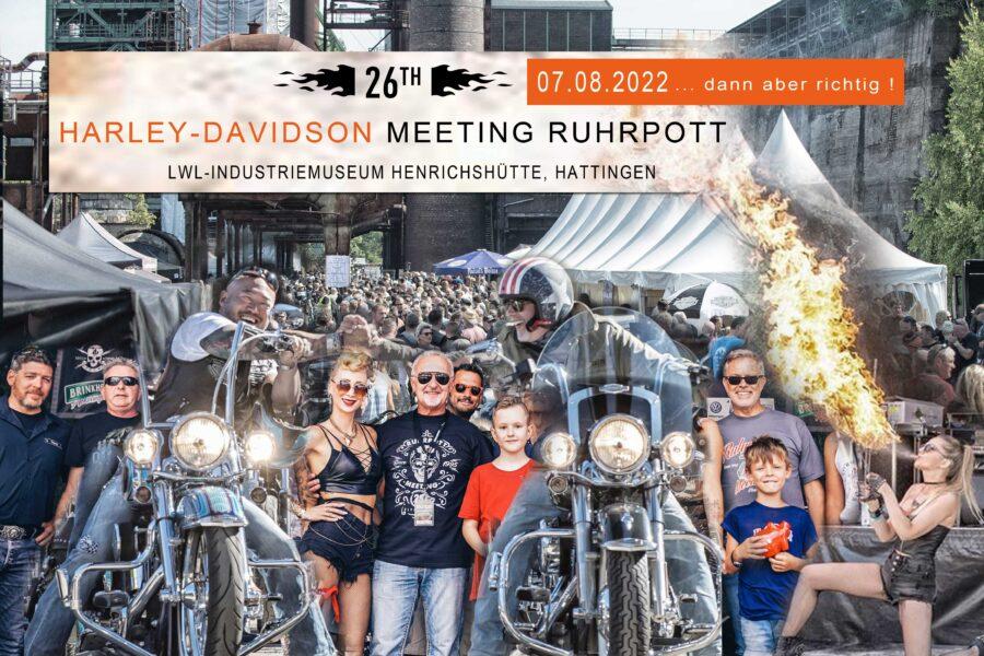 Abgesagt – Harley-Davidson Meeting Ruhrpott 2021