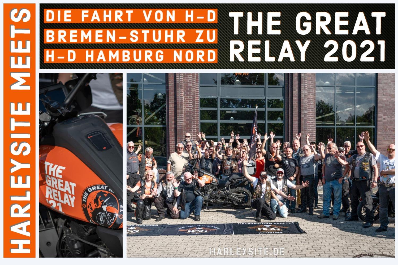 The Great Relay 21 – Pan America von Bremen nach Hamburg