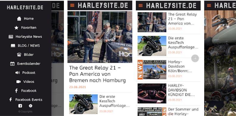 Harleysite App 2021