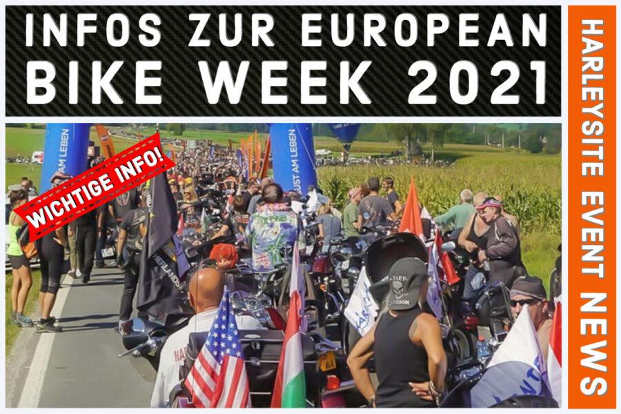 European Bike Week in Faak 2021
