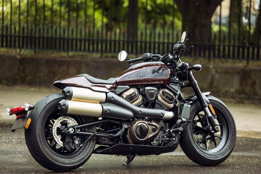 Dunlop GT503 ab Werk auf neuer Harley-Davidson Sportster S