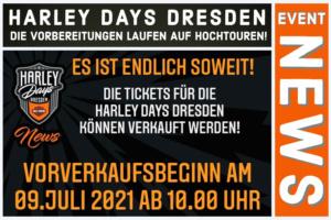 Tickets - Harley Days Dresden 2021