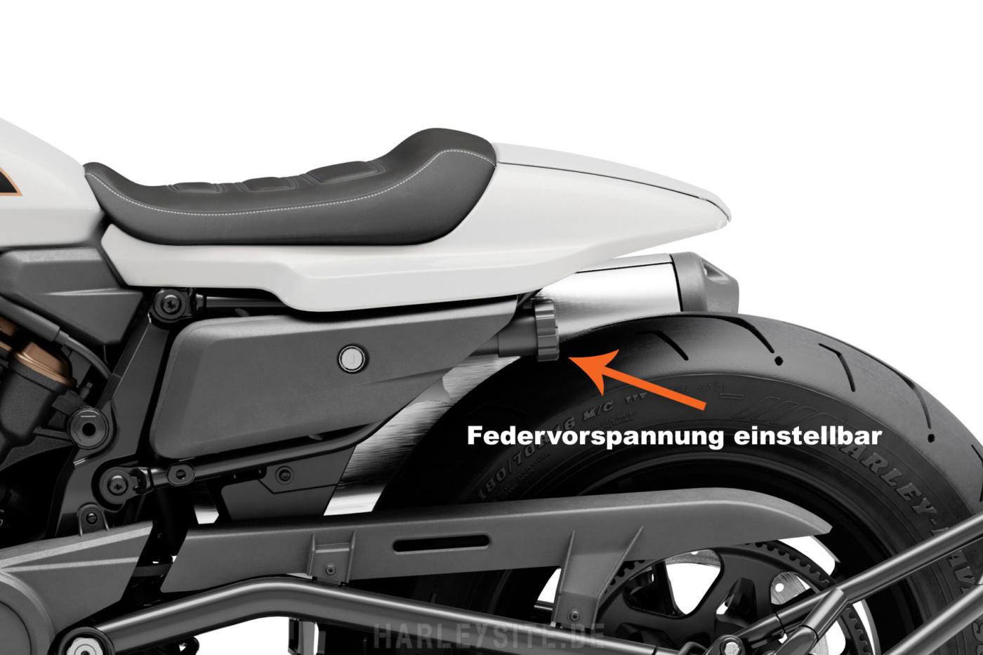 Harley-Davidson Sportster S Revolution Max Hydraulik