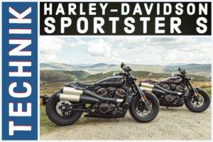 Harley-Davidson Sportster S Technik