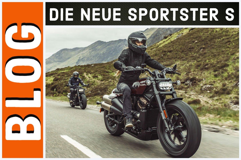 Harleysite Blog – Die neue Sportster S