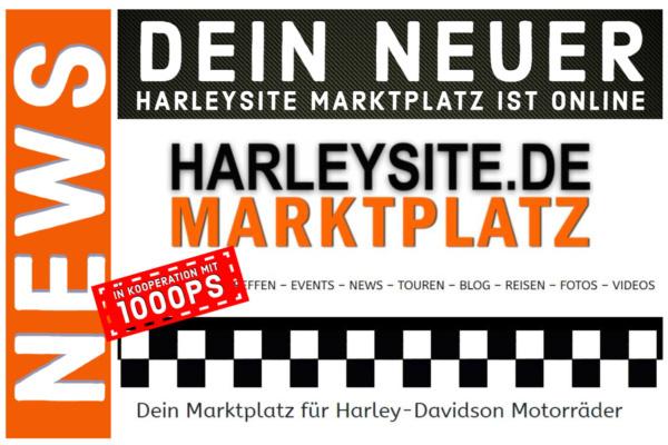 Harleysite Marktplatz für gebrauchte Harley-Davidson Motorräder