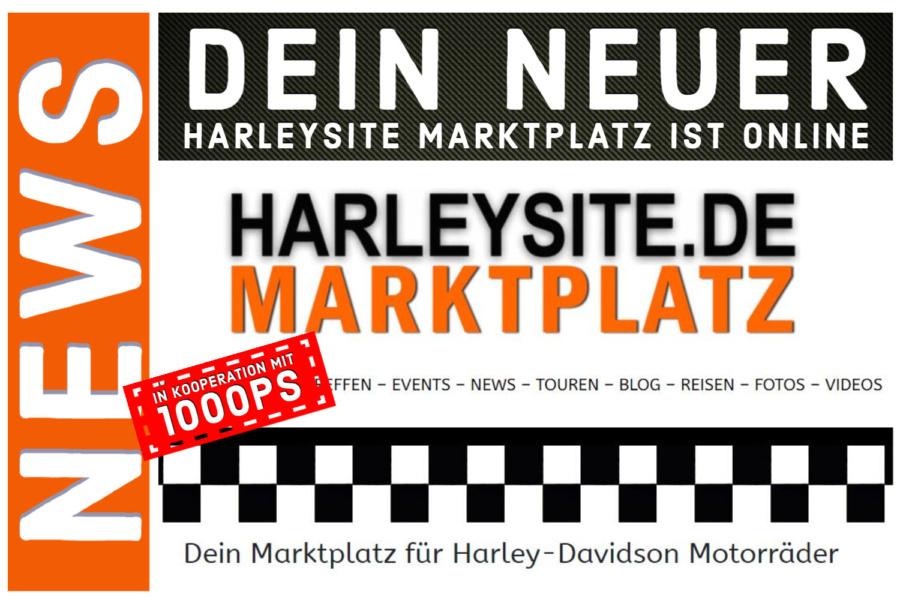 Inseriere jetzt deine gebrauchte Harley-Davidson kostenlos im Harleysite Marktplatz