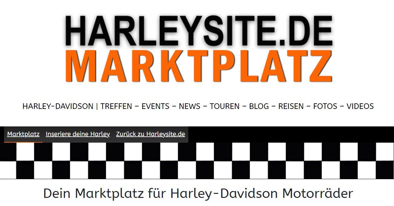 Inseriere jetzt deine gebrauchte Harley-Davidson kostenlos im Harleysite Marktplatz 1