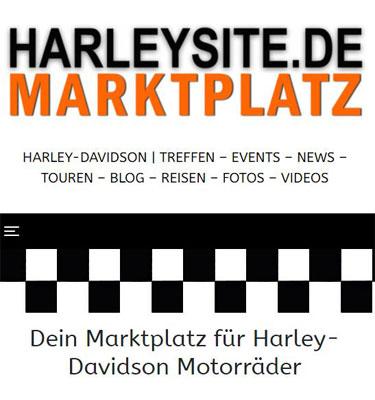 Harleysite Marktplatz Mobil