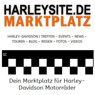 Der neue Harleysite Marktplatz für gebrauchte Harley-Davidson Motorräder