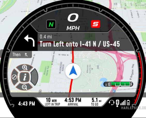 Sportster S Navigation