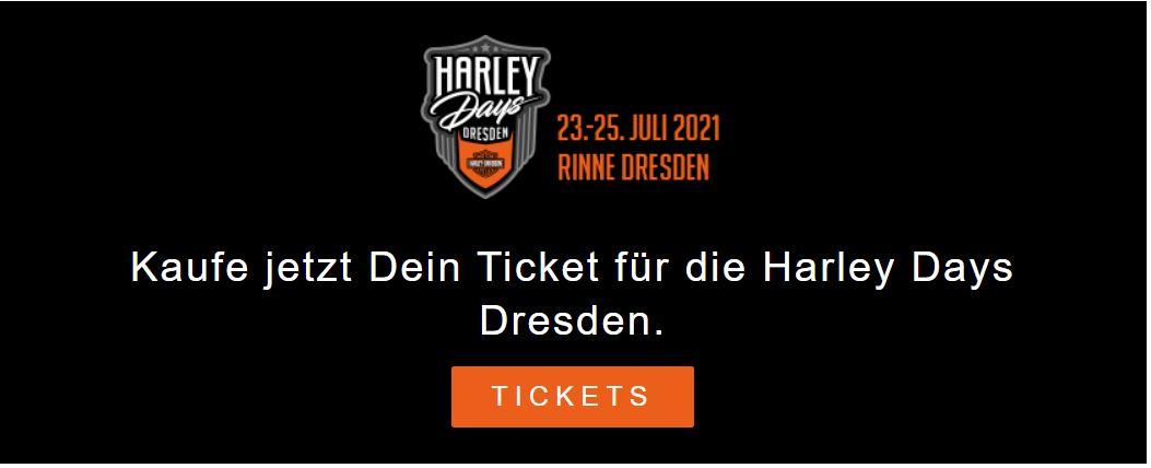 Neues zu den Harley Days Dresden 2021 2