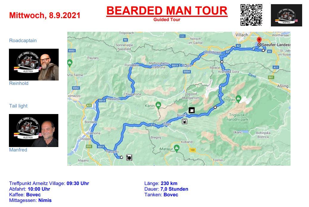 Alpe-Adria-Chapter Tour 1 - European Bike Week 2021