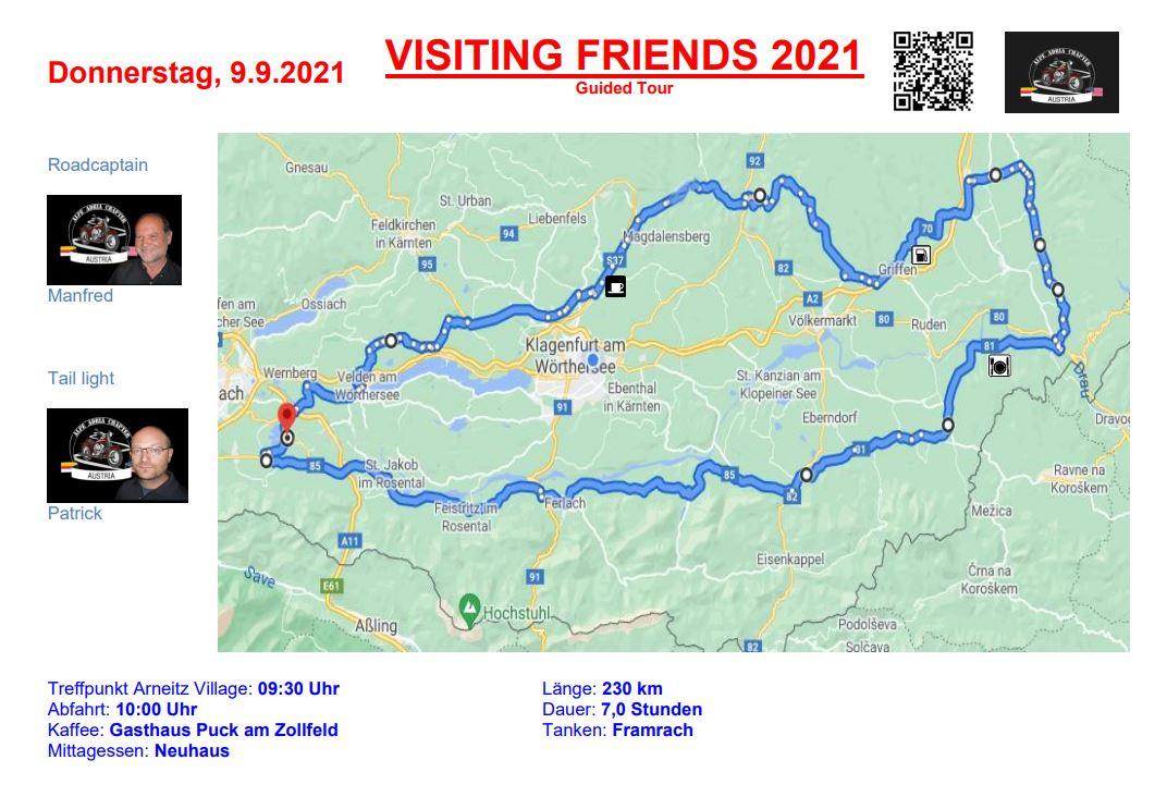 Alpe-Adria-Chapter Tour 2 - European Bike Week 2021