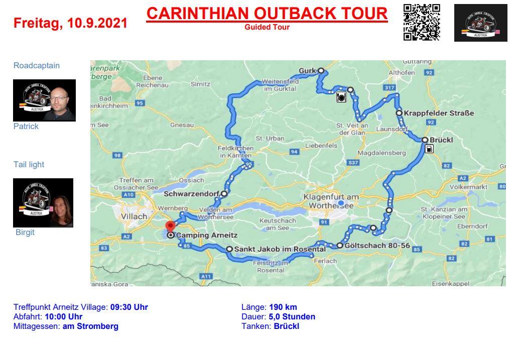Alpe-Adria-Chapter Tour 3 - European Bike Week 2021