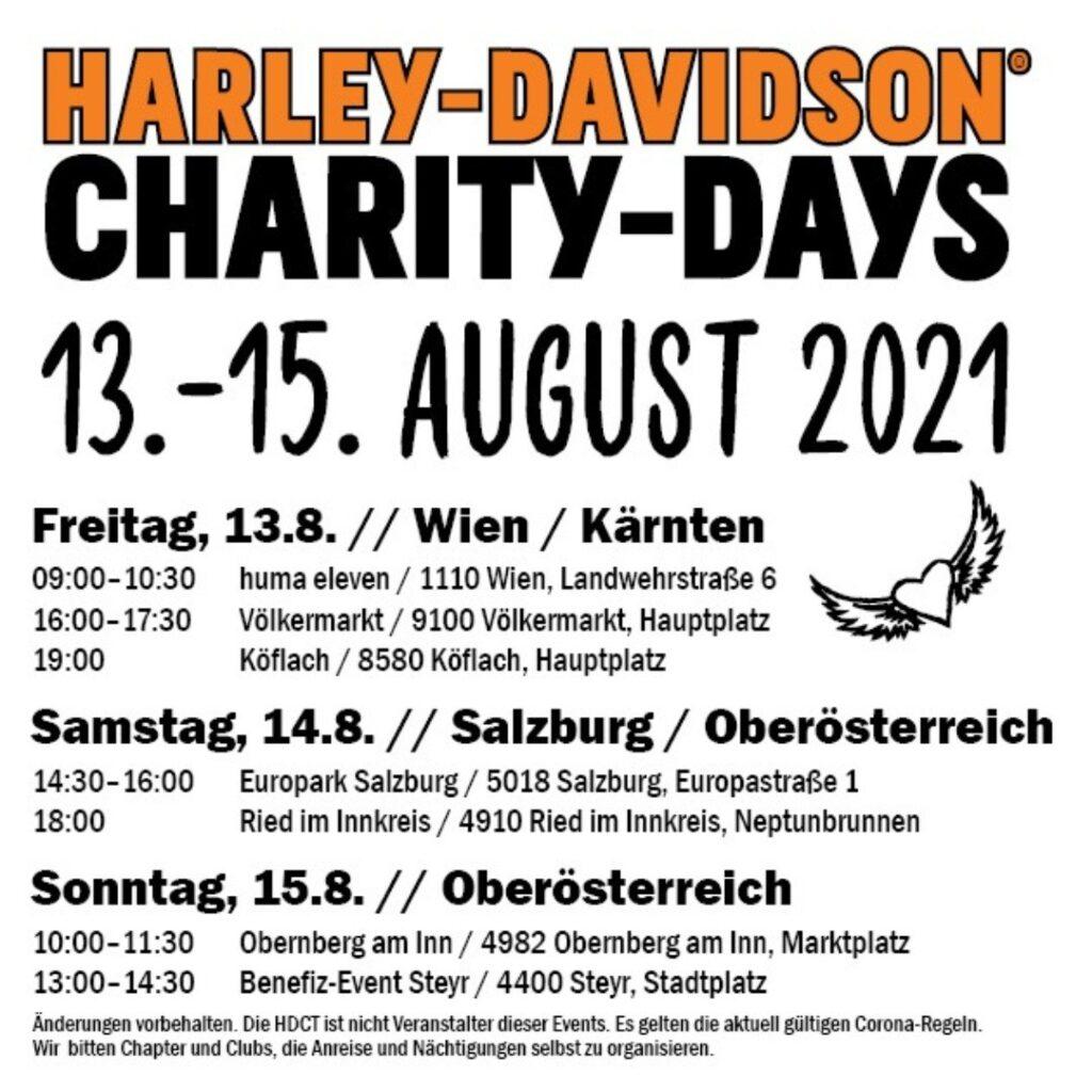 Harley-Davidson Charity-Days