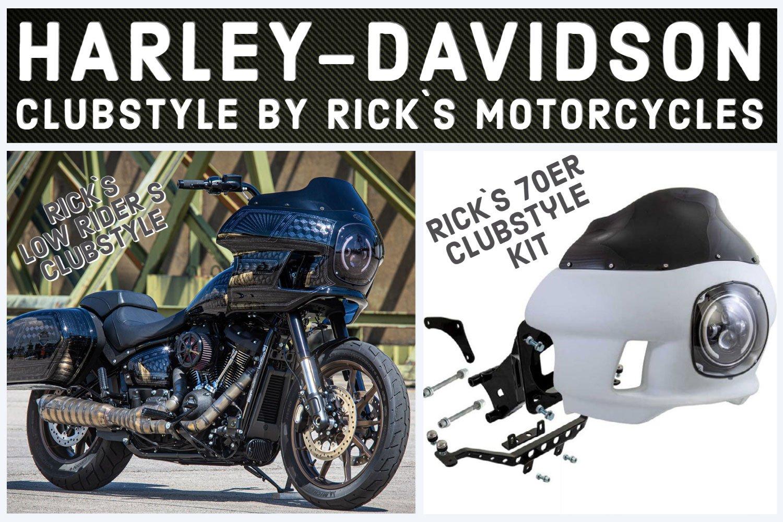 Harley-Davidson Clubstyle jetzt à la Rick´s Motorcycles 2021