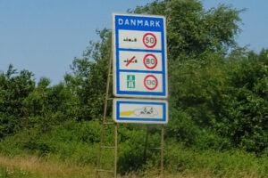 Geschwindigkeitsvorgaben in Dänemark