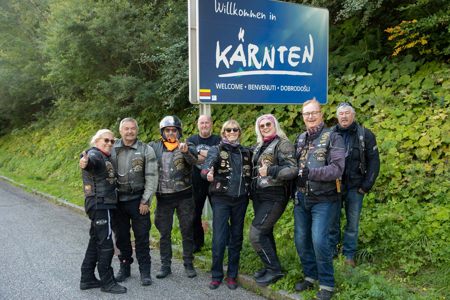 Freitag - Down The Border Tour - H.O.G Chapter Kärnten
