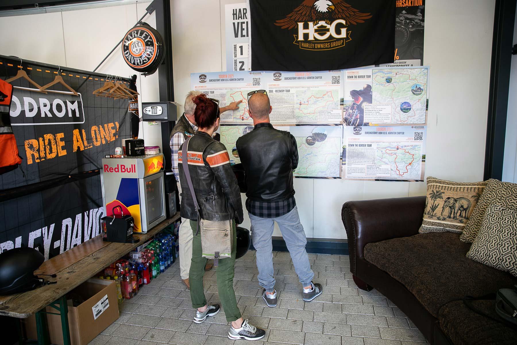 Harley-Davidson Motodrom am Montag