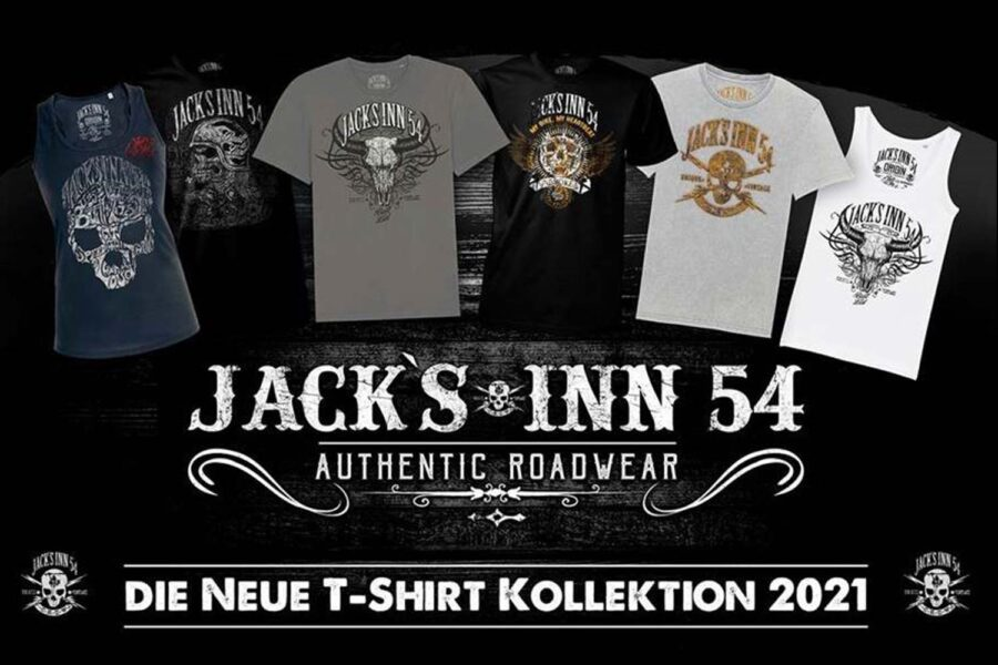 JACKS INN 54 startet zukünftig mit einem der definitiv besten Designer ins T-Shirt Geschäft