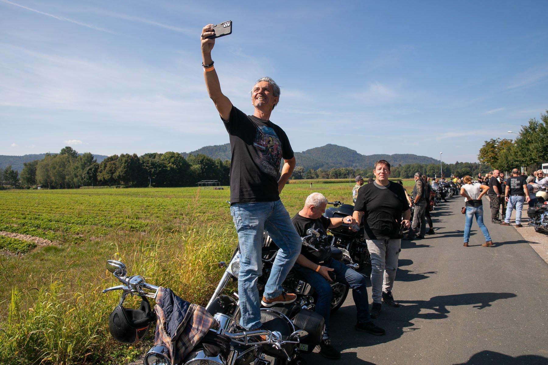 Inoffizielle Parade European Bike Week 2021 1