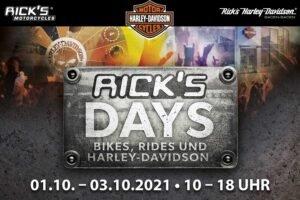 Rick's Days 2021 in Baden Badenvom 01. bis 03. Oktober 2021