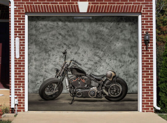 Garagenplanen jetzt für Biker