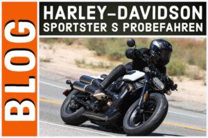 Harley-Davidson Sportster S Probefahrten