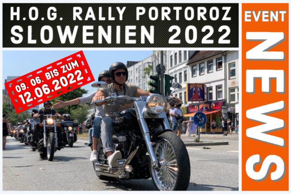 HOG Rally 2022 Slowenien Portoroz
