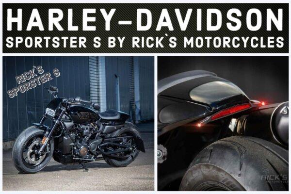 Harley Davidson Sportster S Ricks Motorcycles Custom